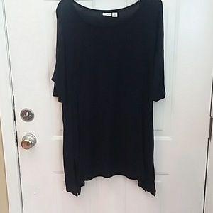 3/$20 CATO asymmetric long legging shirt